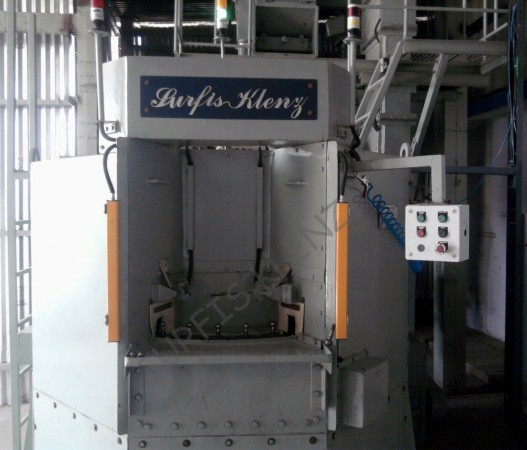 Continuous Table Shot Peening Machine