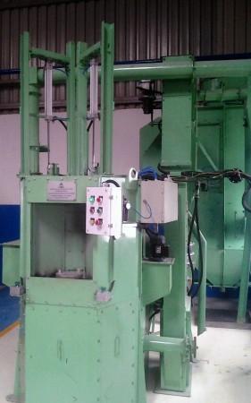 Carousel Type Air Blasting Machine