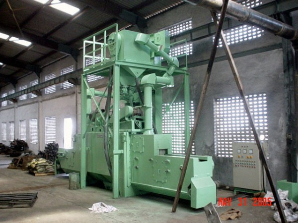 Inline Through Feed Shot Peening Machine