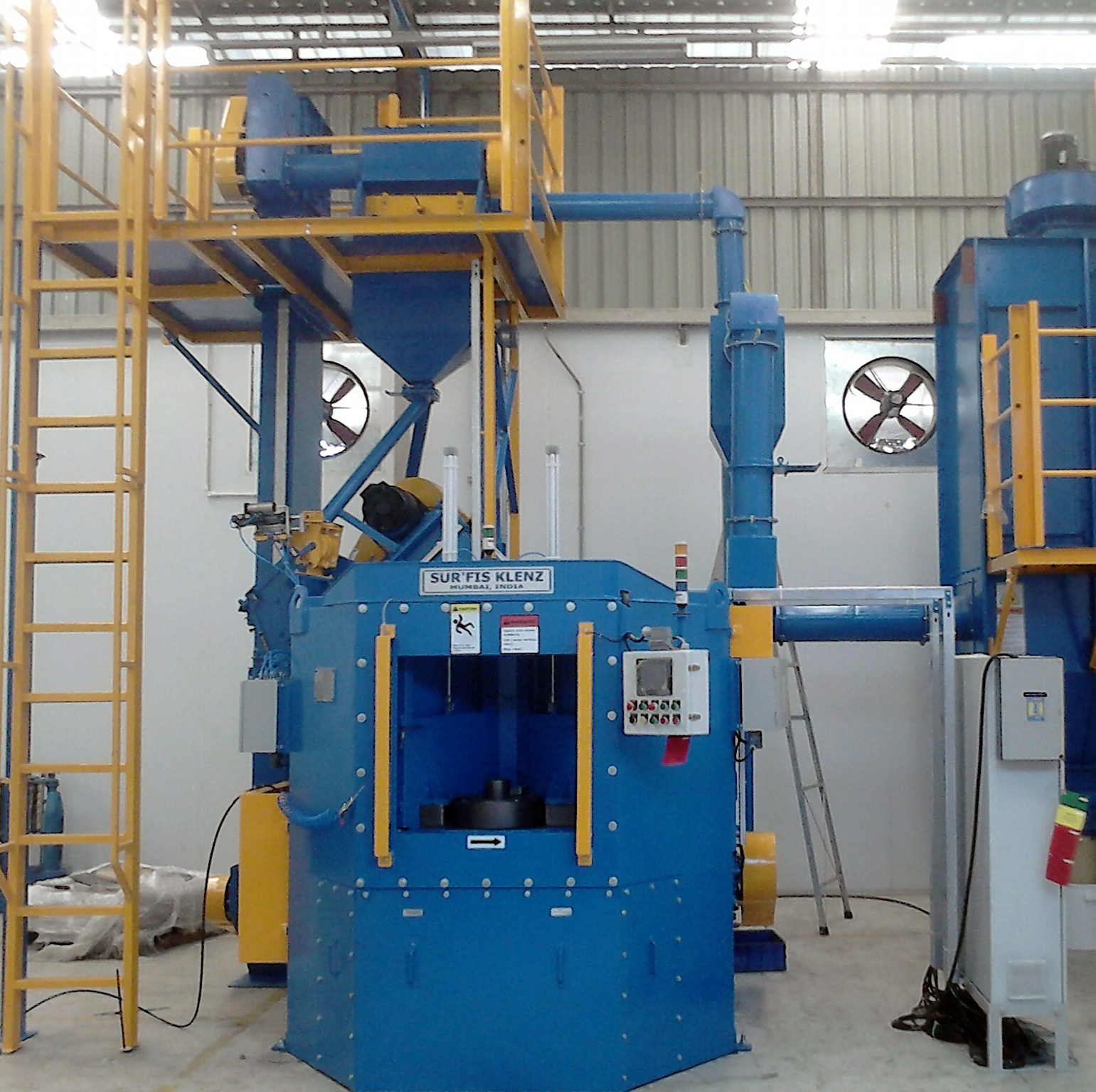 Wheel Peening Machine